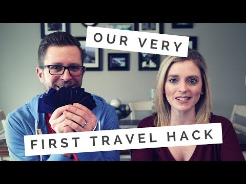 Our First Travel Hack | A Free Honeymoon Flight