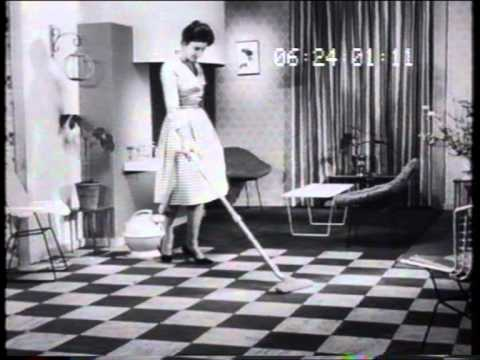 Hoover Christmas 1961 TV commercial