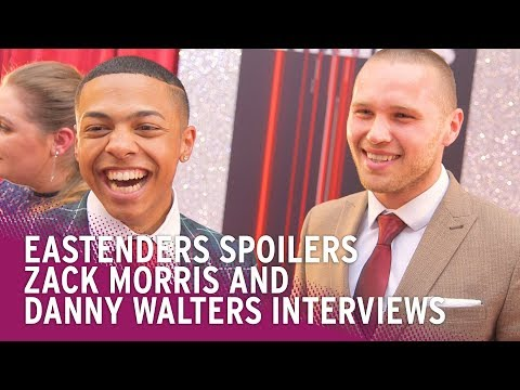 EastEnders Spoilers: Zack Morris and Danny Walters on Knife Crime Fallout and Future Romances