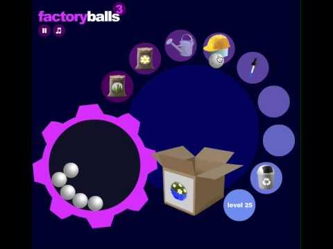 Factory Balls 3 - level 25