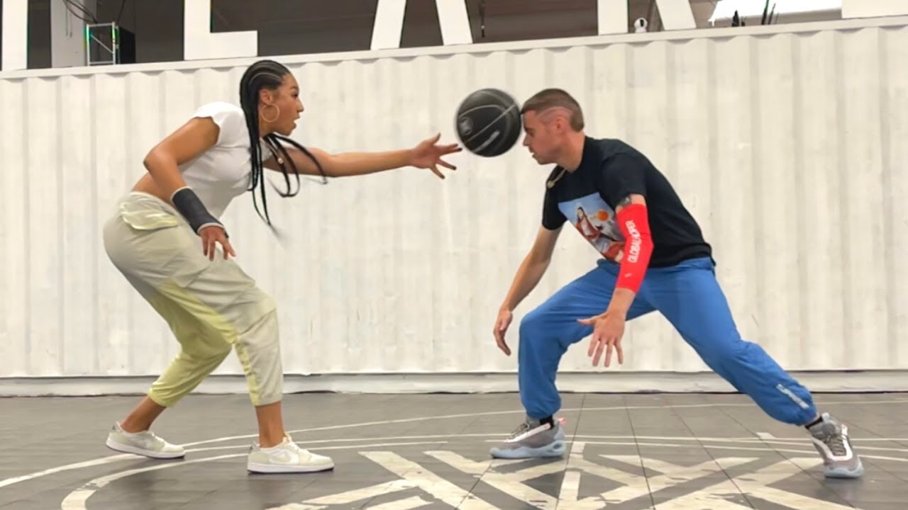 Professor Shows Aerial Powers(WNBA Star) Most CONTROVERSIAL MOVE in Basketball