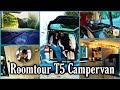 ROOMTOUR VW T5 I Unser Gemütliches Zuhause Auf 4 Rädern