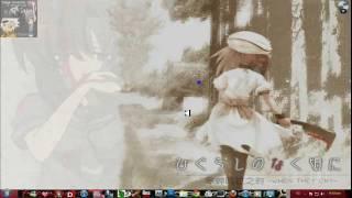 tema de higurashi no naku koro ni para windows 7