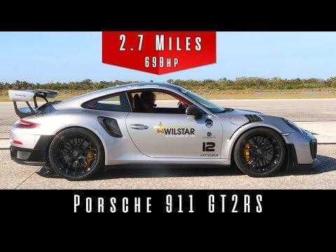 2018 Porsche 911 GT2 RS (Top Speed Test)