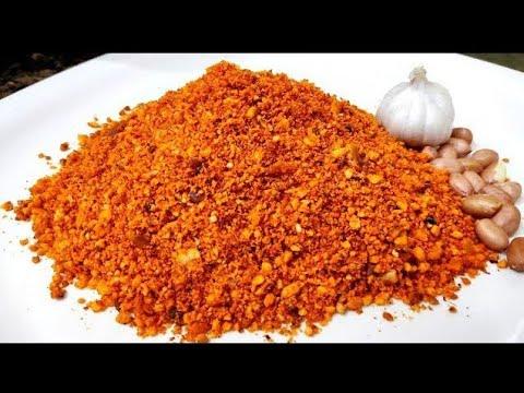 Tabu's Kitchen = Dry Peanuts Chutney - Sheng ki Chutney