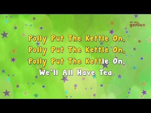 Karaoke - Polly Put kettle On | Karaoke Rhymes