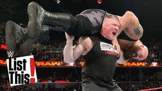 From Goldberg to Brock Lesnar, these WWE Superstars have done the unthinkable and lifted Big Show. Get your first month of WWE Network for FREE: ...