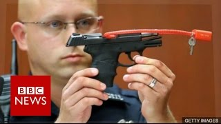 George Zimmerman to auction Trayvon Martin death gun - BBC News