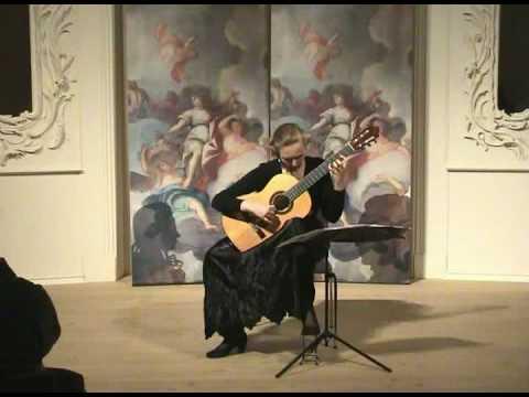 Chaconne Bach Heike Matthiesen part 2, classical guitar