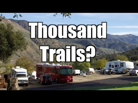 Trying Thousand Trails Rancho Oso