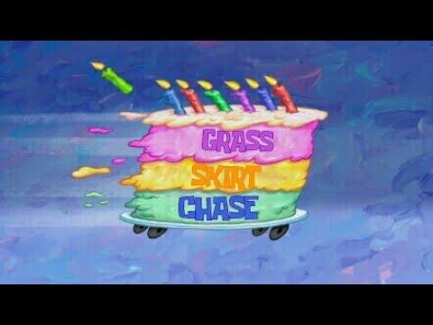 sponge-bob-music:-grass-skirt-chase