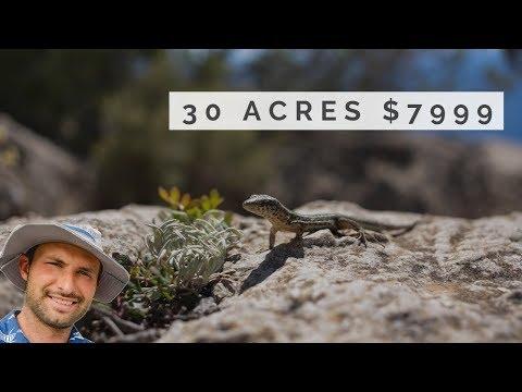 Cheapest 30 acres Land in San Bernardino County CA