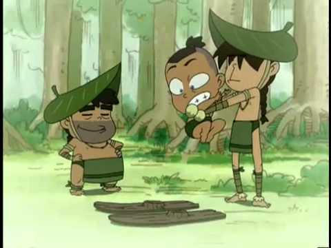 Avatar: Chibi miniseries  Swamp Skiin' Throwdown