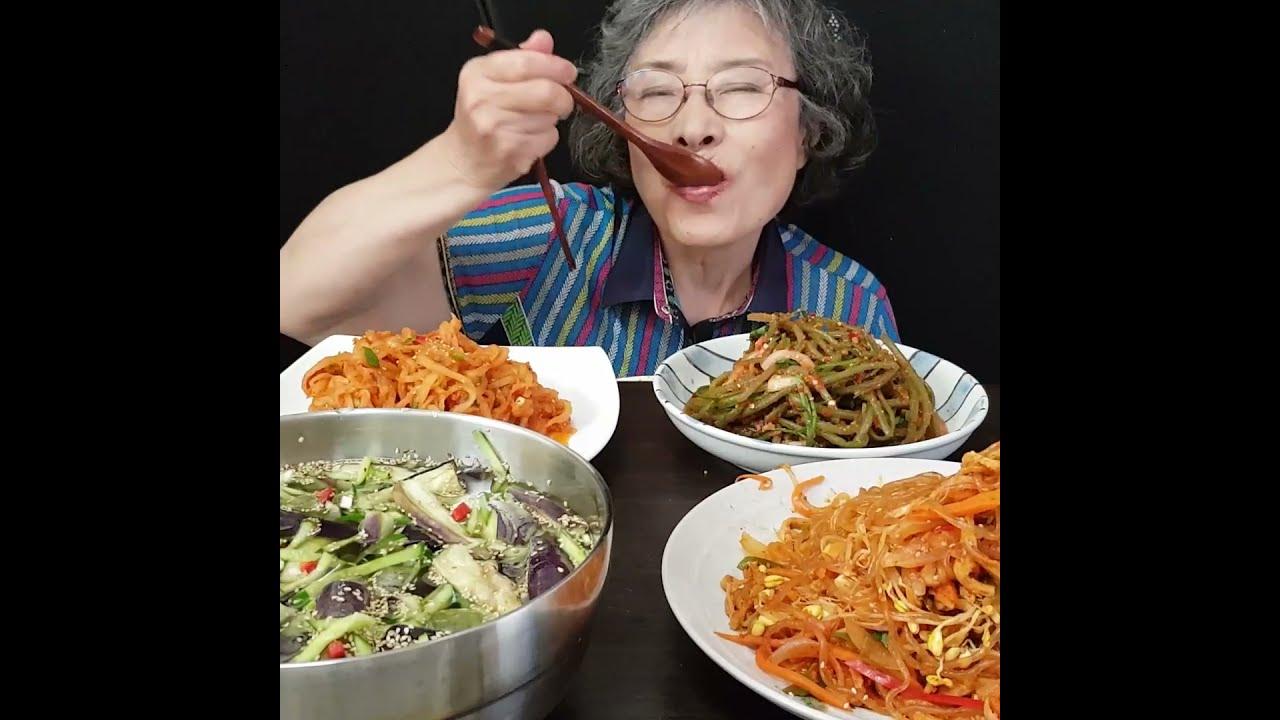 진짜 가지가지 하는 할머니?  MUKBANG EATING SHOW Korean Food #shorts