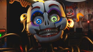 THE ANIMATRONICS BUILT A HORRIFYING NEW CREATURE.. ENNARD! | Circus Baby's Diner