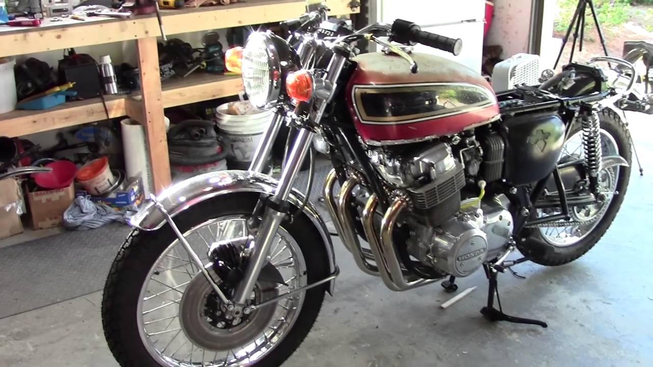 73 Honda Cb750 Custom Build Part 39 Miscellaneous Stuff Youtube