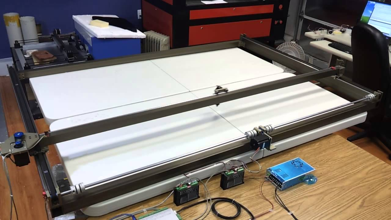 Lightobject Xle1200 1200 1800 Co2 Laser Xy Stages Youtube