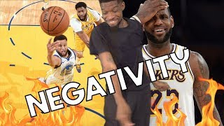 """LETS GET NEGATIVE! NBA """"WIDE OPEN AIRBALL"""" MOMENTS"""