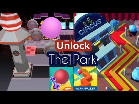 Rolling Sky VS Dancing Line - Unlock The Park (Mashup)