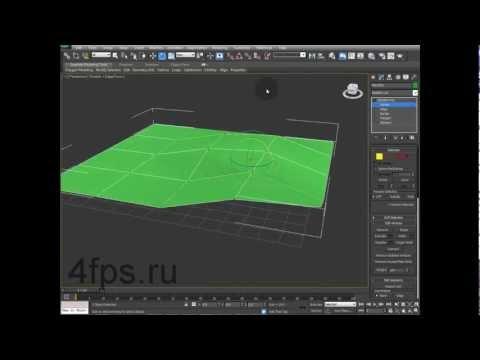 Как увеличить количество полигонов в 3d max