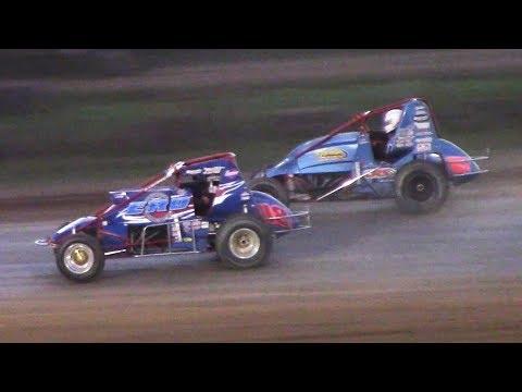 RUSH Sprint Car Heat | McKean County Family Raceway | 9-29-18