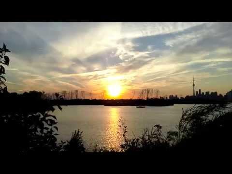 Amazing #Sunset Soft Sweet Breeze in #Toronto