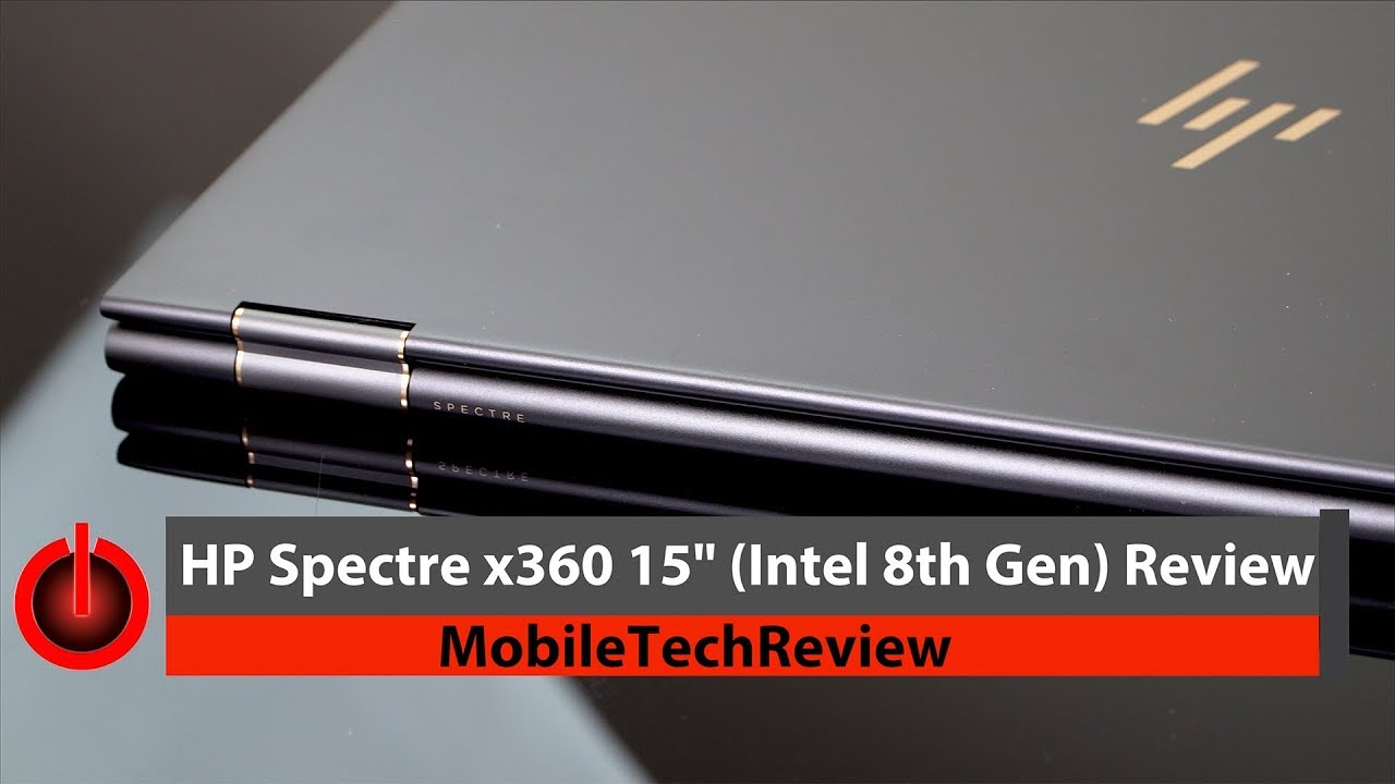 2017 HP Spectre x360 15