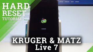 How to Hard Reset KRUGER & MATZ Live 7 - Bypass Lock Screen Solution