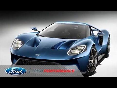 Ford GT Unveiled at North American International Auto Show | Ford GT | Ford Performance