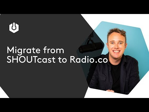 Migrating Your Stream from a SHOUTcast Server to Radio.co