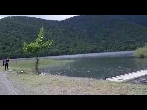 Malaysian Guests at Nohur Lake Gabala - Travel Azerbaijan