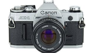 How to Use a Canon AE-1 35mm Film Camera