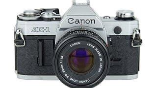 Як використовувати фотоапарат Canon ае-1 35 мм плівкова камера