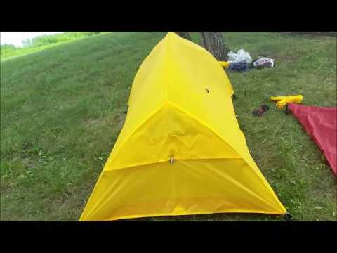 PARIA Bryce 2 man tent & PARIA Bryce 2 man tent - YouTube