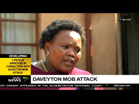 Developing | 3 people arrested in connection with Daveyton mob attack