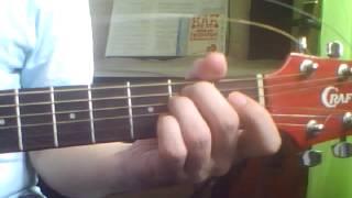 Любимая (Бандера) Аккорды на гитаре