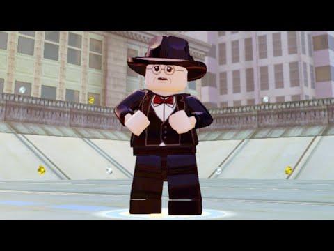 Lego Marvels Avengers How to Unlock Arnim Zola in Rail HYDRA