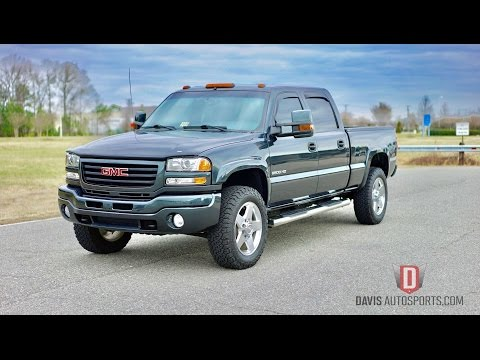 Davis AutoSports FULLY RESTORED SIERRA 2500 LB7 FOR SALE / EVERYTHING IS NEW AND PERFECT
