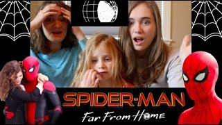SPIDER-MAN: FAR FROM HOME Trailer Reaction!