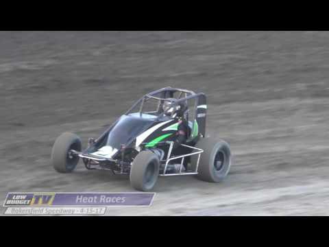 Heat Races: Bakersfield Speedway 4-15-17