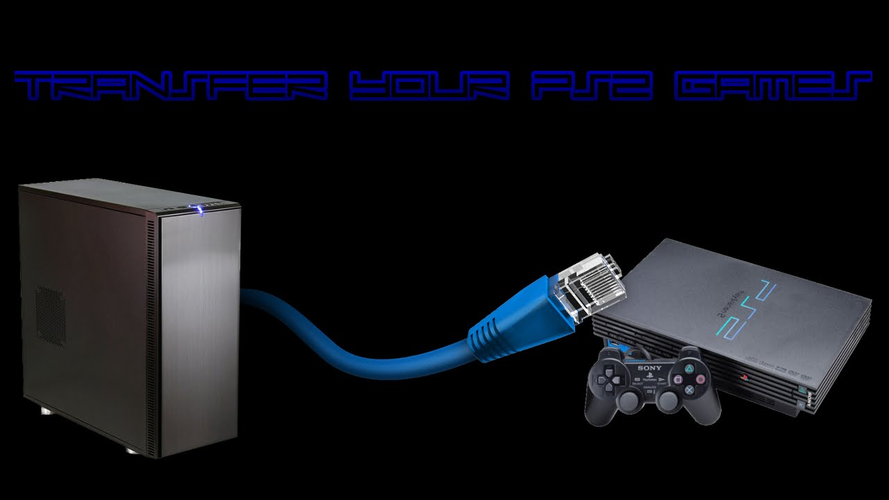 How To Transfer Games To Your Ps2s Internal Hdd Via Ethernet Softmod Required Youtube