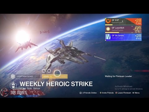 weekly heroic strike destiny no matchmaking
