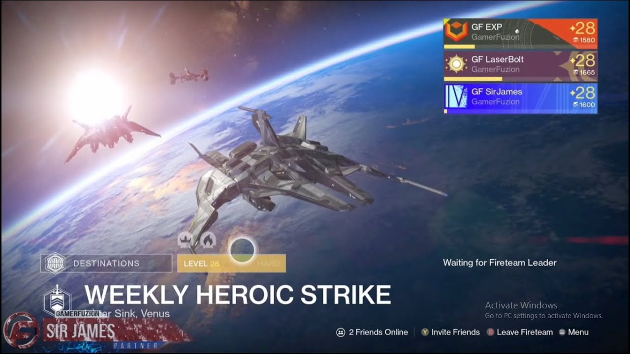 Heroic strike matchmaking destiny 2