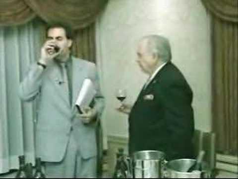 Borat - Wine Tasting