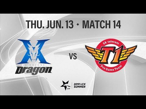 킹존 vs SKT | Match14 H/L 06.13 | 2019 LCK 서머