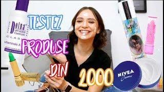 TESTEZ PRODUSE POPULARE DIN ANII 2000