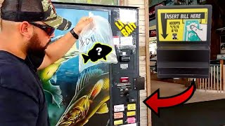 Vending Machine that SELLS LIVE AQUARIUM FISH!