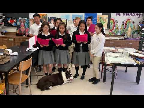 The New Bishop Maginn High School Choir