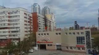 Пожар в квартире на улице Щорса