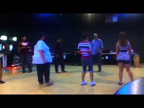 Latin Dancing at the Bowling Alley Every Tuesday Night come
